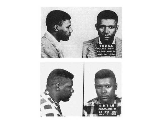 DON KING - On the subject of manslaughtering Don King, only in America can a violent convicted felon make a smooth career transition into the boxing industry. These are a couple of Cleveland Police Department mug shots from DK's previous career as a street thug.