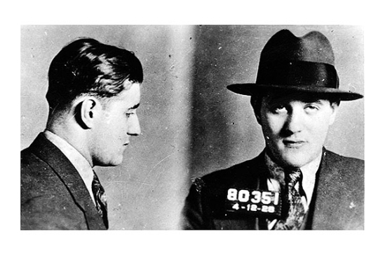 BUGSY SIEGEL - Along with Lucky Luciano and Meyer Lansky, Benjamin 'Bugsy' Siegel was an original organized crime pillar. Pictured in this 1928 New York Police Department photo, Siegel, who was also central to the development of Las Vegas's gambling industry, was shot to death in June 1947.